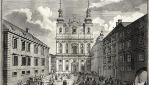 Stara zgrada Sveučilišta u Beču i isusovačka crkva