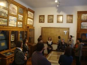 Stručni obilazak Muzeja pod vodstvom Branke Manin, ravnateljice Hrvatskog školskog muzeja