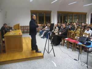 The Lecture of Dr. Dinko Župan